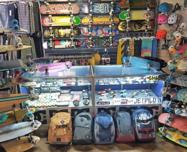 Skateboards and Skate Accessories at Saltwater Dream